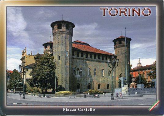Italy - Torina Piazza Castello