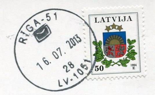 Latvia - Knitted Socks stamps