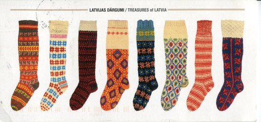 Latvia - Knitted Socks