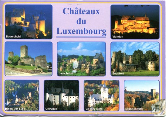 Luxembourg - Chateaux