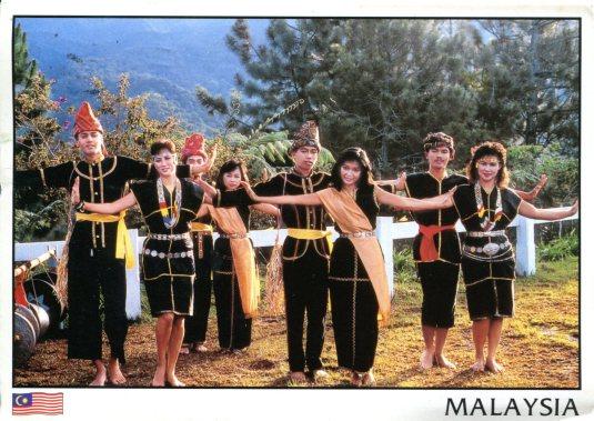 Malaysia - Dancers of Sumazau