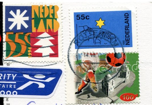 Netherlands - King and Queen stamps