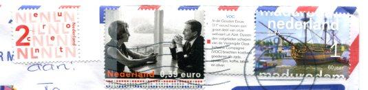 Netherlands - Mailbox stamps