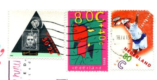 Netherlands - Westerlicht stamps