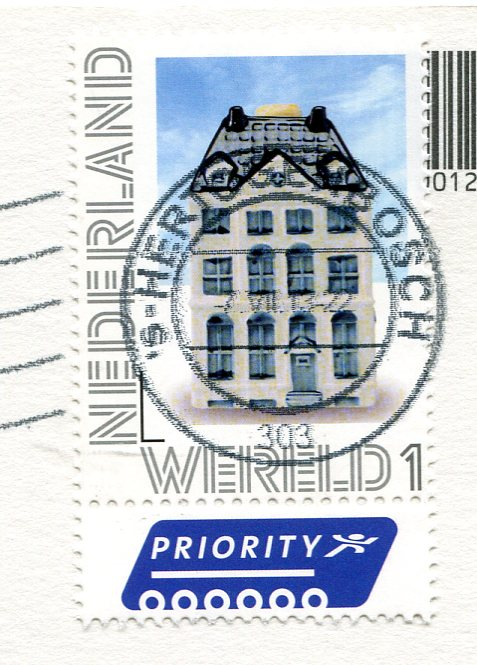 Netherlands - Windmills in the Fog stamps