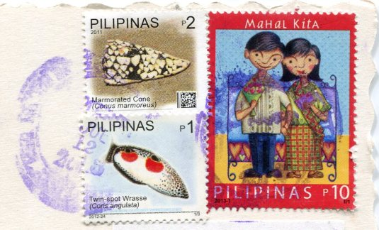 Philippines - Fort Santiago vintage stamps