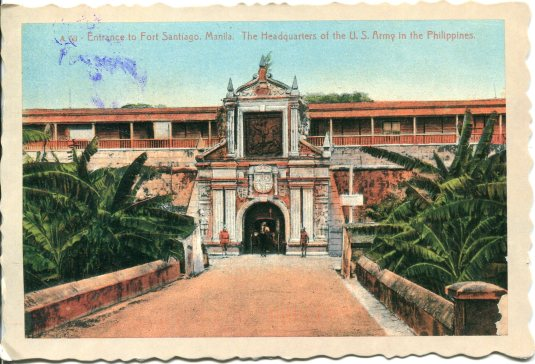 Philippines - Fort Santiago vintage