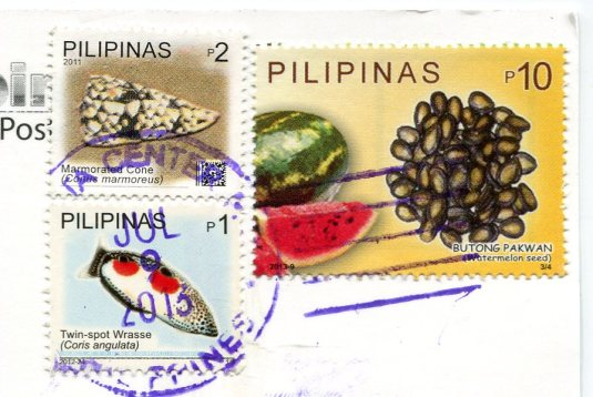 Philippines - Taal Volcano stamps