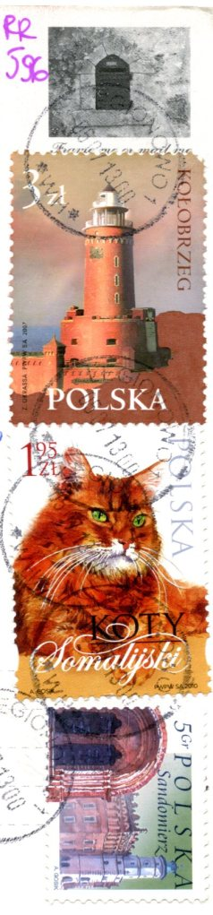 Poland - old mailbox stamps