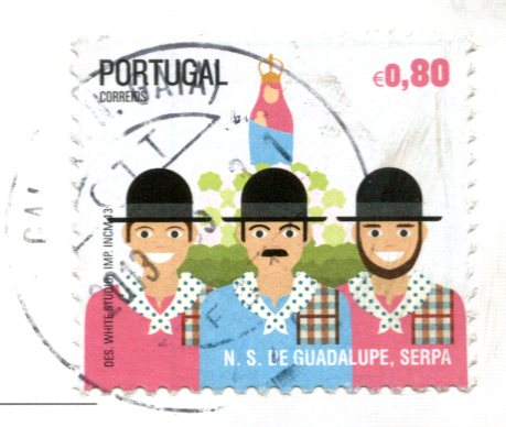 Portugal - Lamego - Our Lady Rendition stamps
