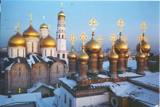 Russia - Cathedrals of Moscow Kremlin