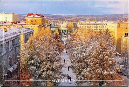 Russia - Murmansk Winter