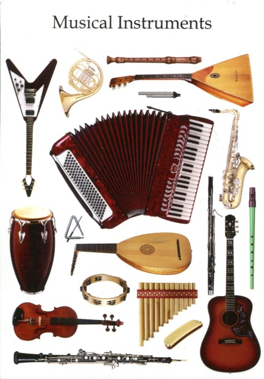 Russia - Musical Instruments