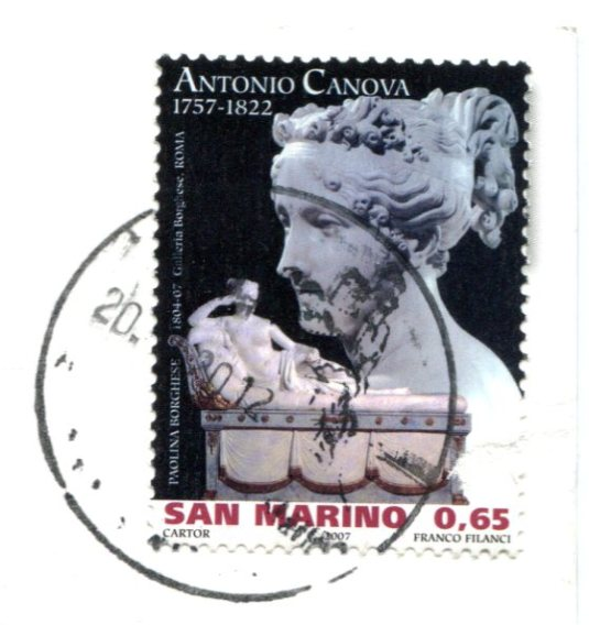 San Marino - First Tower stamps
