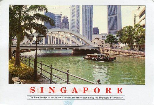 Singapore - Elgin Bridge