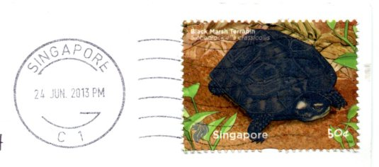 Singapore - Merlion stamps