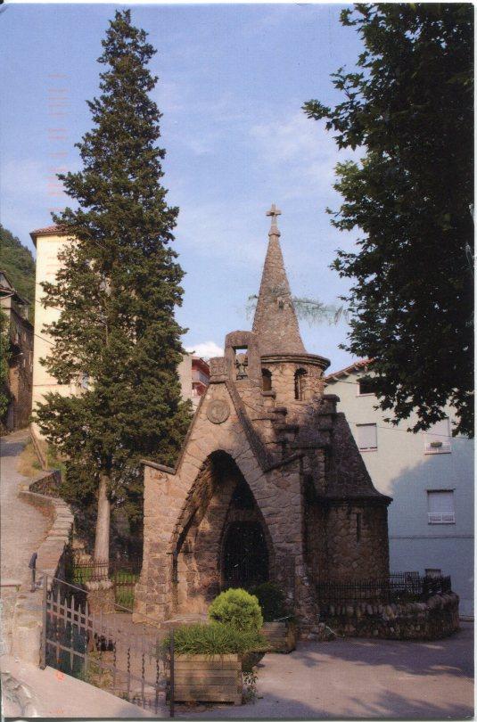 Spain - Ripoll Chapel St Miguel del la Roqueta
