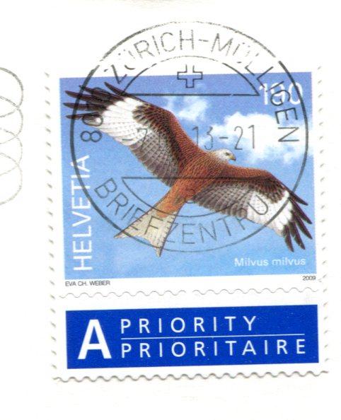 Switzerland - Jungfrau stamps