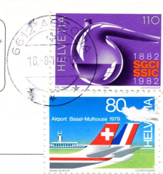 Switzerland - lago maggiore stamps