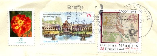 UK - Oxford Multiview stamps