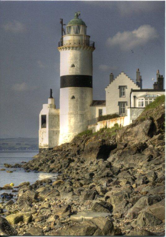 UK - Scotland - Cloch Point Lighthouse