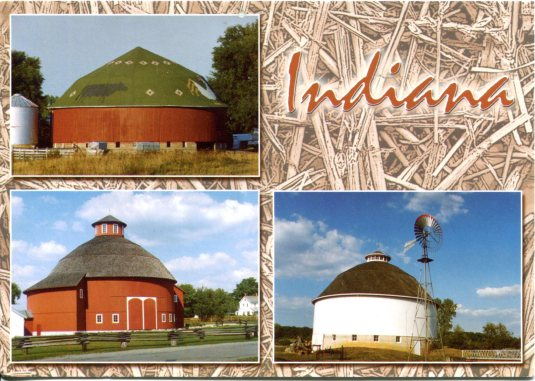 USA - Indiana - Round Barns