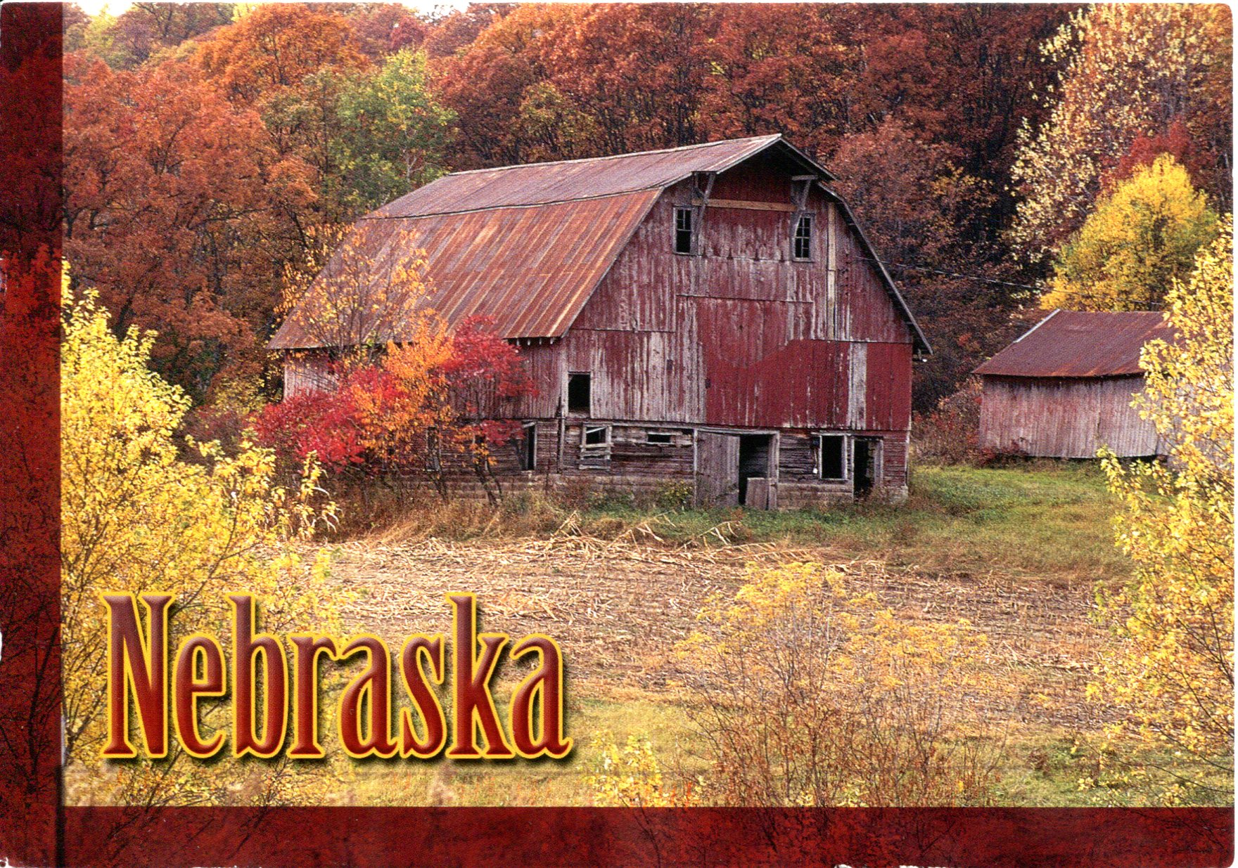 Usa Nebraska Remembering Letters And Postcards