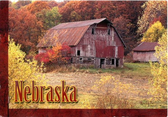 USA - Nebraska - Barn