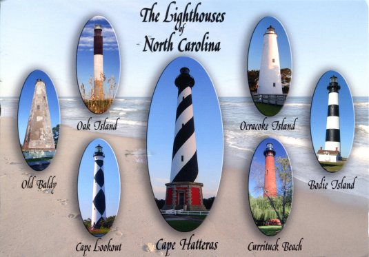 USA - North Carolina - Lighthouses