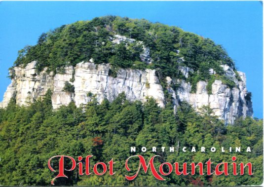 USA - North Carolina - Pilot Mountain