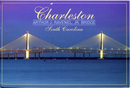 USA - South Carolina - Arthur J Ravenel Jr Bridge