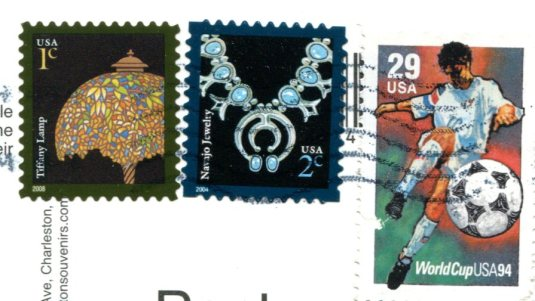 USA - South Carolina - Basket Weavers stamps