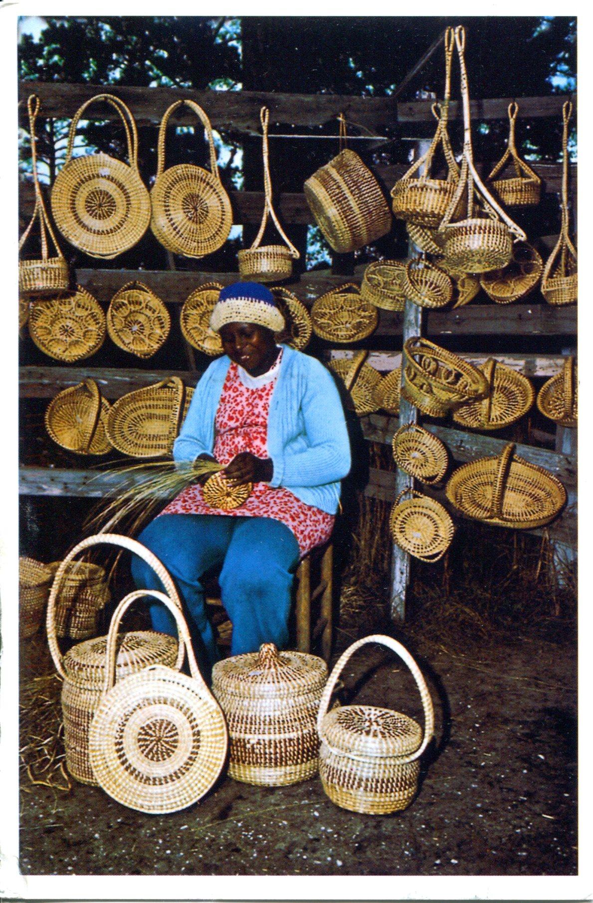 Basket Weaving North Carolina : Usa south carolina remembering letters and postcards
