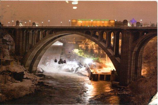 USA - Washington - Monros St Bridge