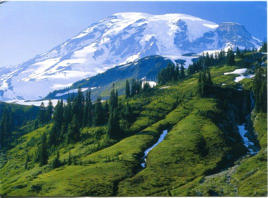 USA - Washington - Mt Rainier