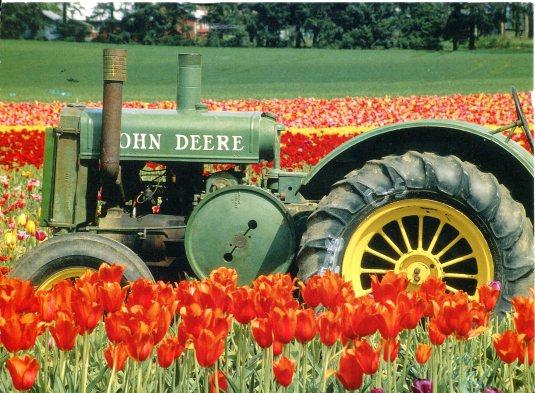 USA - Z - John Deere Tractor