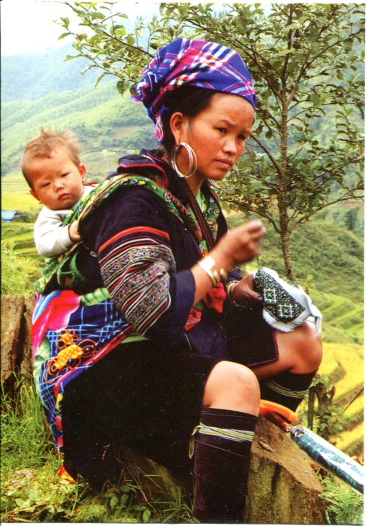 Vietnam - Mother and Son