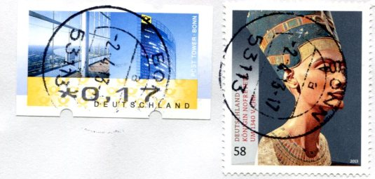 Vietnam - Woman and Needlework stamps Germany