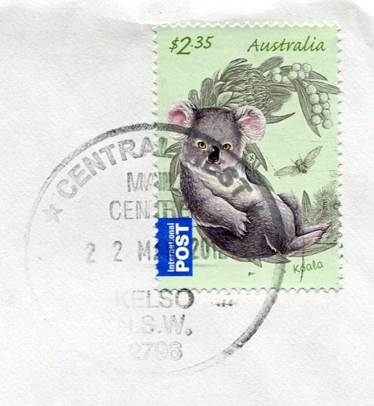Australia - Penguin Knitting Book stamps