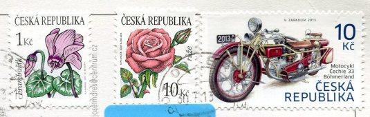 Czech Republic - Spilberk stamps