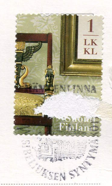 Finland - Illus Hameenlinna stamps