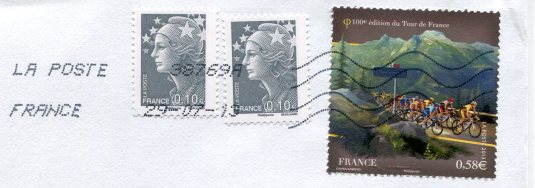 France - Rambouillet Castle stamps