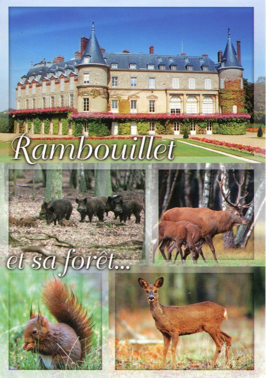 France - Rambouillet Castle