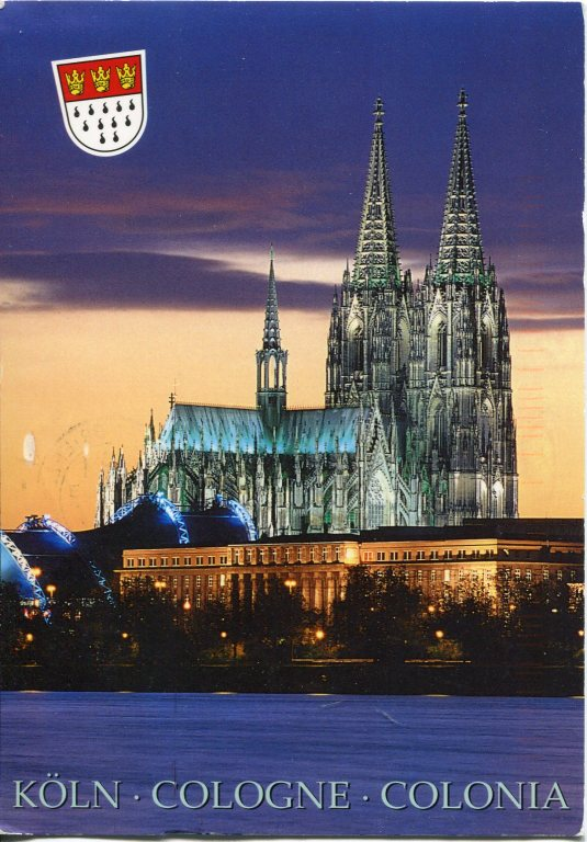 Germany - Cologne Cathedral Night