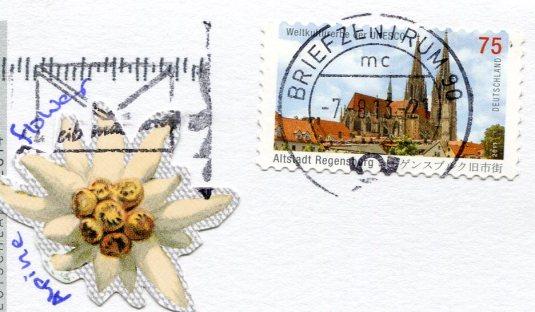 Germany - Lake Gerold Karwendel Mtns stamps