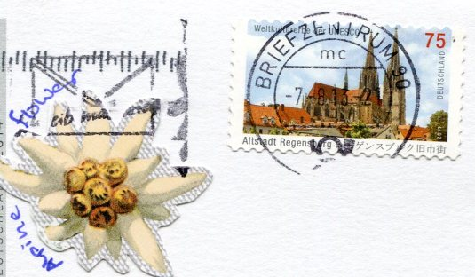 Germany - Lake Gerold Karwendel Mtns stamps