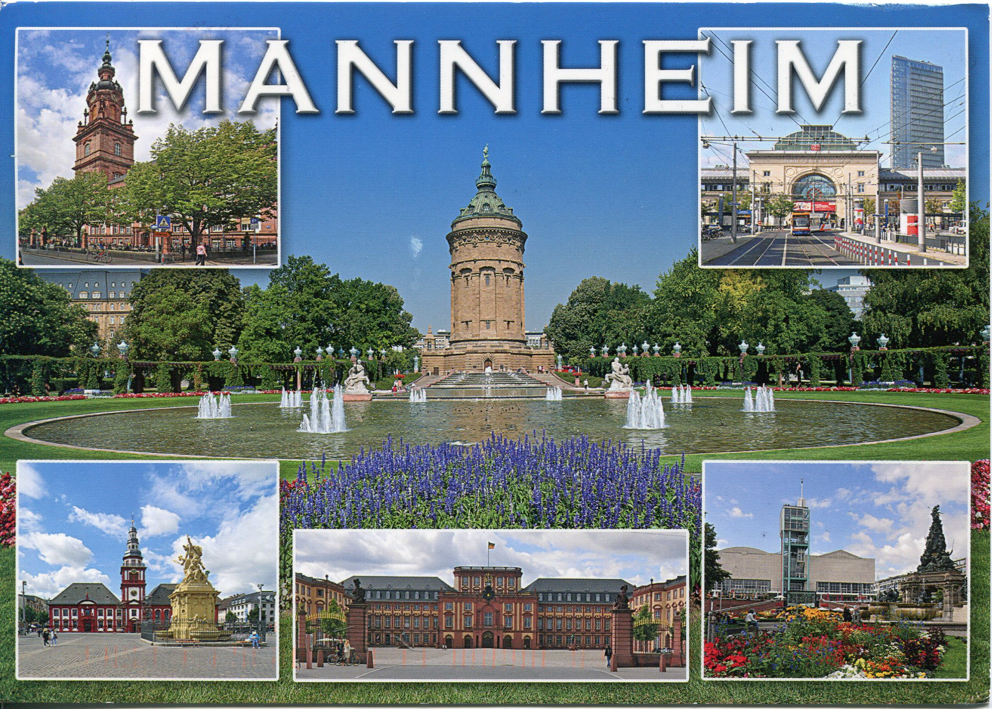 Mannheim Germany  City pictures : Germany Mannheim