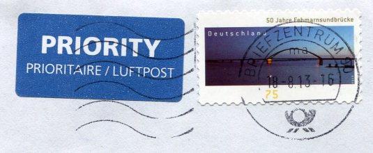 Germany - sheep from bread stamps