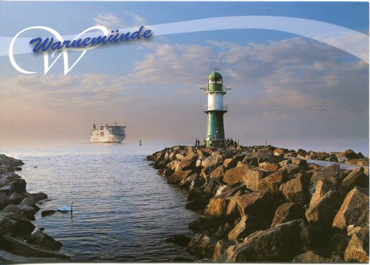 Germany - Warnemunde Lighthouse