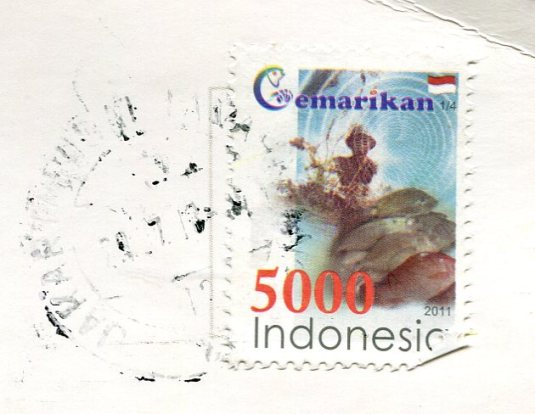 Indonesia - Candi Borobudur stamps
